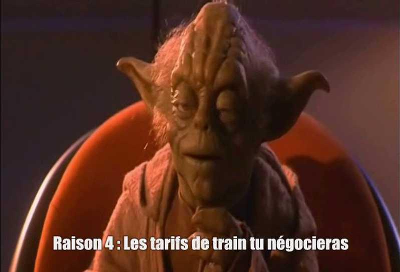 6 bonnes raisons de s'inscrire au Congrès avant la fin de l'année, par Maître Yoda