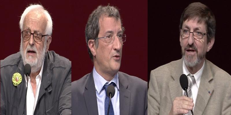 Discours en vidéo (1): Pierre Garnier, François Lamy, Jean-Louis Deroussen
