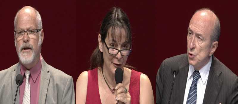 Discours en vidéo (3): Gérard Castaldi, Françoise Rahard et Gérard Collomb