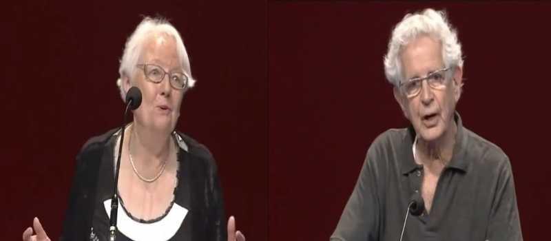 Discours en vidéo (2): Solange Bouchet et Jean-Pierre Worms