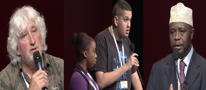 Discours en vidéo (6): Marc Dassonville, Marjorie Dimanche et Karim Chaouchi, Youssouf Moindjie